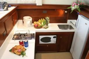Reel Hooker Kitchen - Phuket Boat Charters