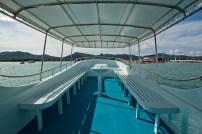 Thai Motor Boat - Upper deck2