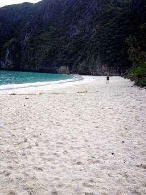 Maya Bay in der Früh