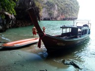 Phang Nga Bay Caves & Sea Canoe Tour - Boat