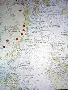 Phang Nga Bay Caves & Sea Canoe Tour - Map