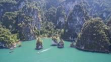 Cheow Lan See von oben