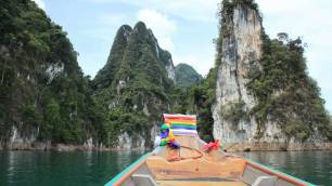 Khao Sok - Transfers via Longtail boat