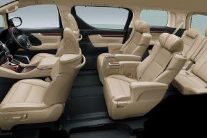 Phuket Limousine - Alphard-black-interior2