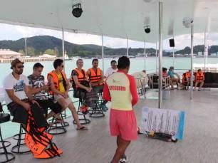 Phuket Island Hopping Cruise - Safety Briefing