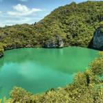 Lagoon at Ang Thong National Park