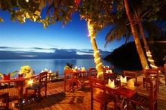 Salad Beach Resort Restaurant, Koh Phangan - Thailand