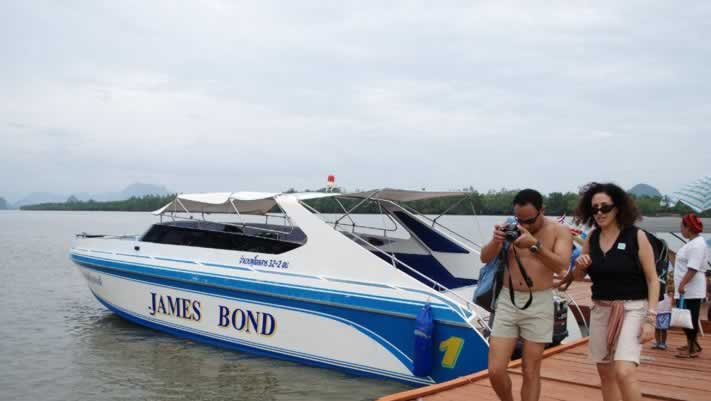 Krabi Phang Nga Bay Sea Canoe - Speed Boat