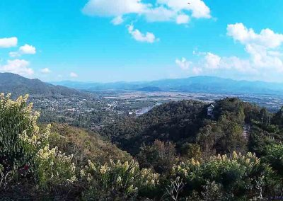 chiang mai, mae ai - wat thaton viewpoint panorama