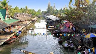 Bangkok Sightseeing Tours - Tha Ka Market