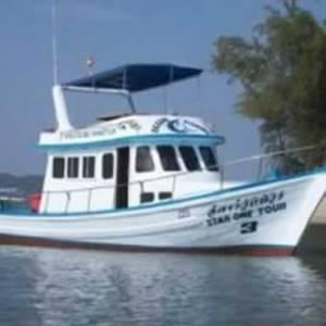 Krabi Fishing Tours - Fishing Boat