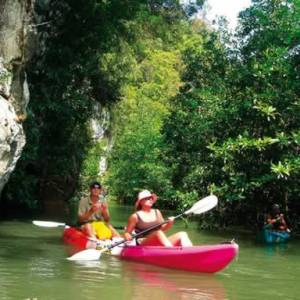 Kayaking Bor Thor, Krabi - Thailand