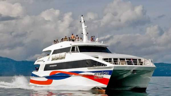 Phuket to Koh Samui Transfers - High Speed Catamaran