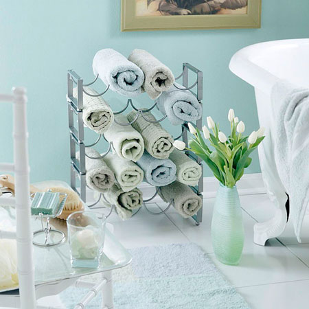 DIY Towel Storage Ideas