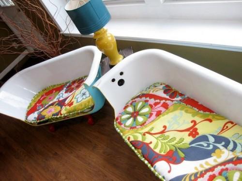 DIY Bathtub Couches Ideas