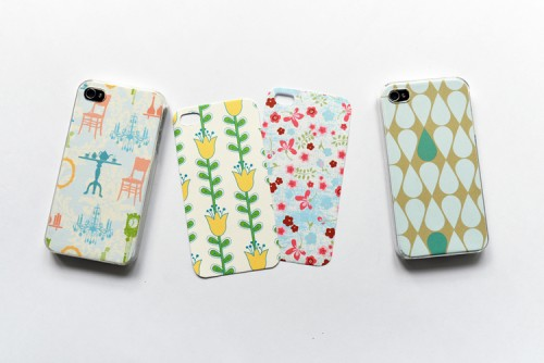 DIY Spring inspired Phone Cover