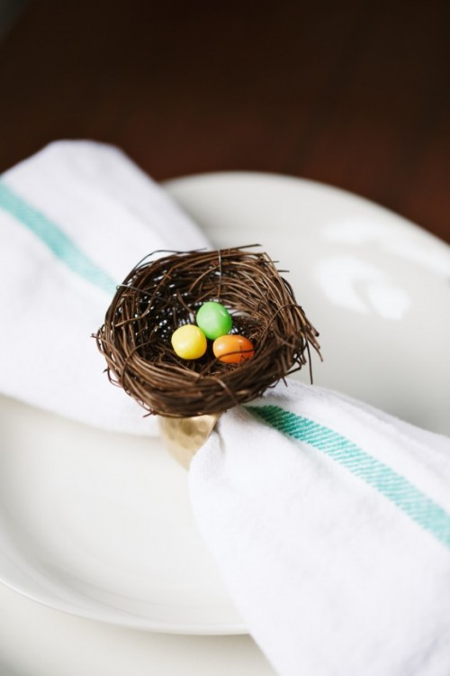 wonderful Spring Napkin Rings