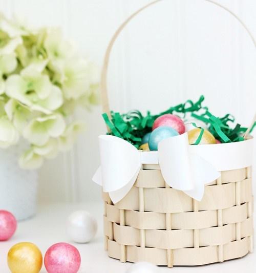 Easter Egg Basket Cool Crafts