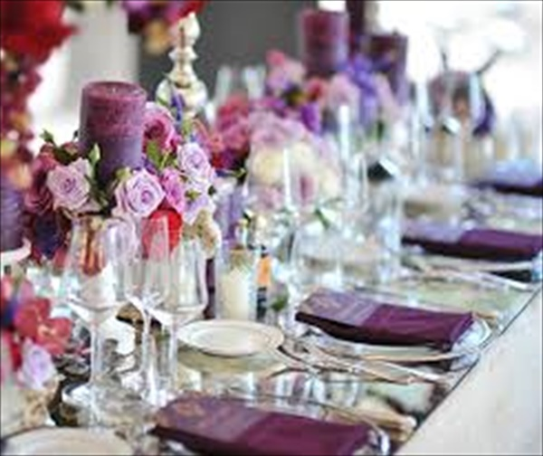 Stylish Crystal Table Runners