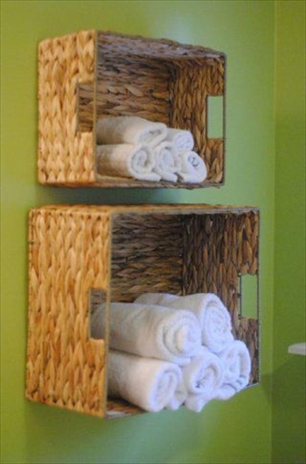 Unique towel holder for washroom
