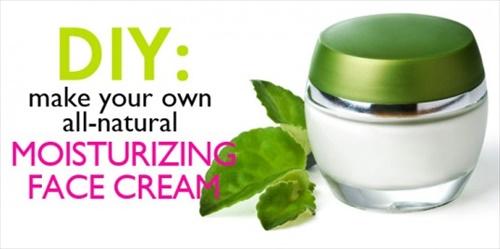 DIY facial moisturizer