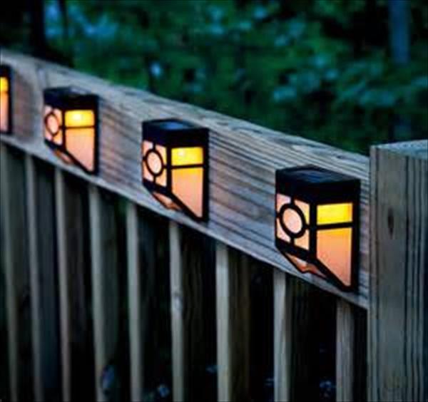 DIY yard solar lights ideas