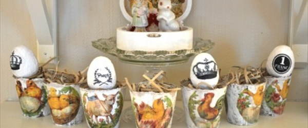 lovely Easter Decor idea