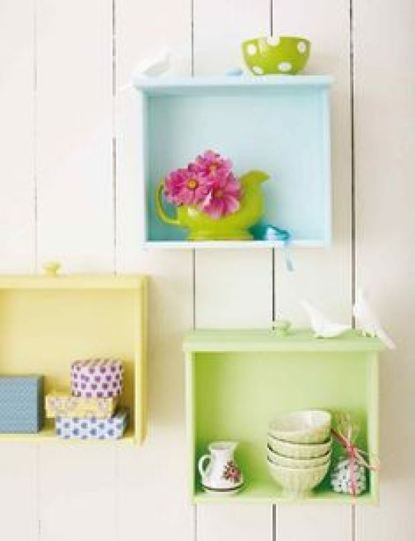 Easy Homemade shelves projects