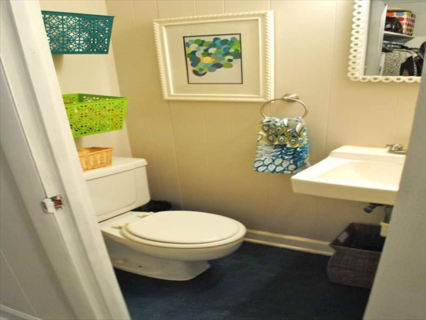Cheap DIY washroom remodeling ideas
