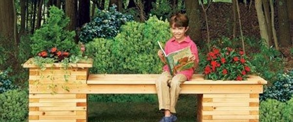 awesome planter bench ideas