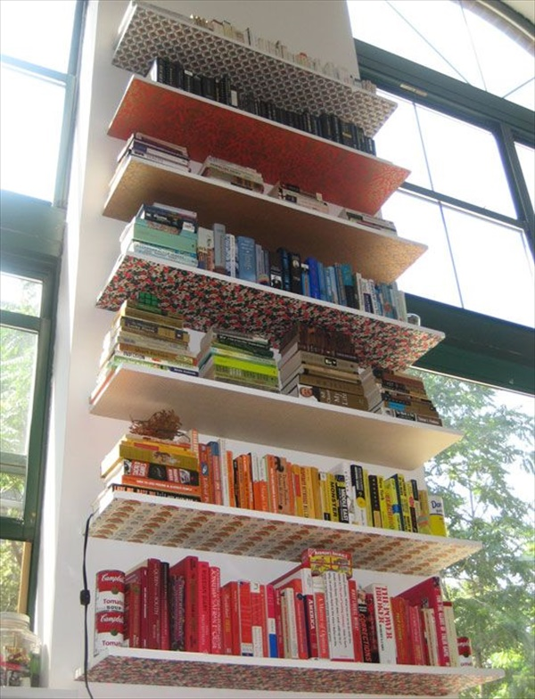 Cool DIY wall shelves