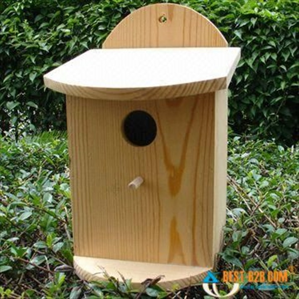 How to make a pallet birdhouse