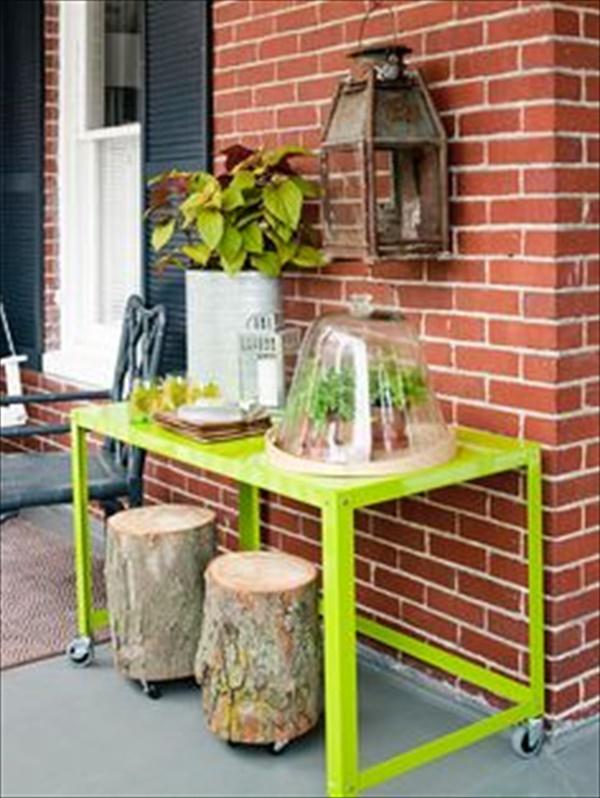 DIY wooden table tray9