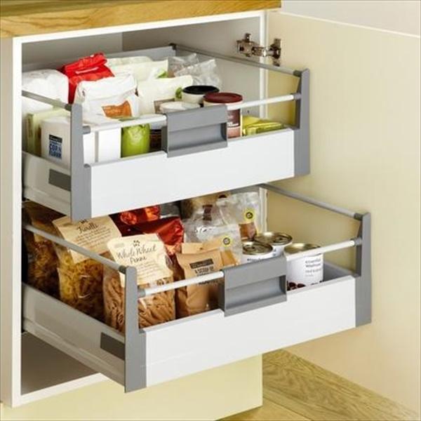 Easy Kitchen storage solution