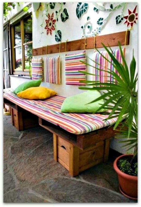 Awesome DIY pallet sofa ideas