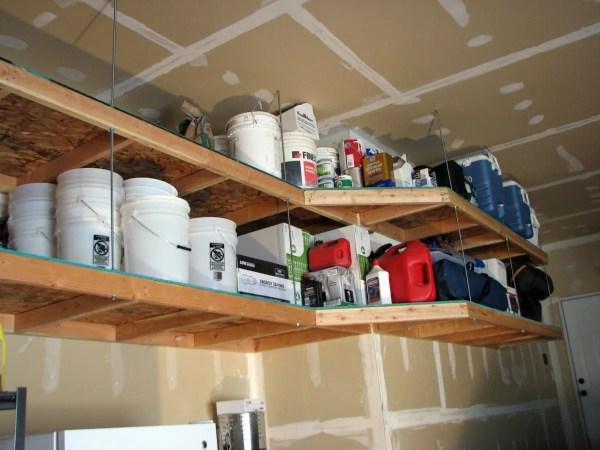 DIY Garage Shelving Project