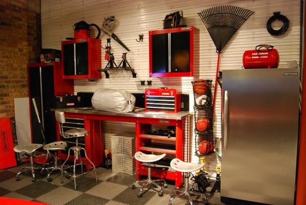 Unique garage storage solution