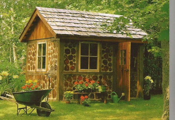 how to make a garden shed