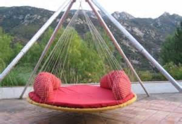 Easy hanging bed for kids