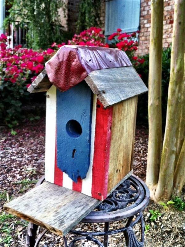 Easy homemade birdhouse ideas