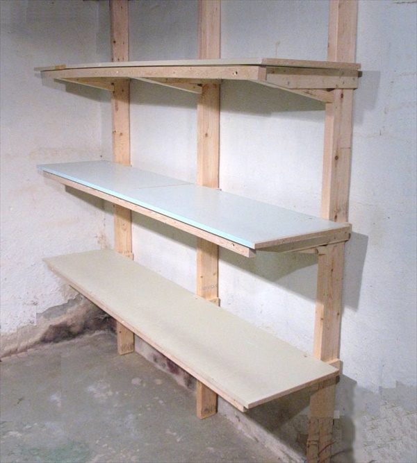 DIY Unique shelving project