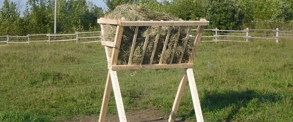 Build your own horse pallet feeder easy diy and crafts build your own horse pallet feeder solutioingenieria Image collections