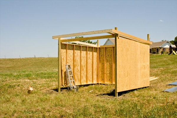 Wood Horse Shelter : Diy easy horse shelter and crafts