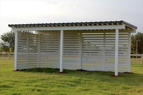 Do It Yourself Home Design: DIY Easy Horse Shelter