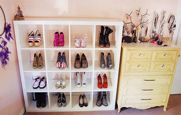 DIY Easy shoes rack