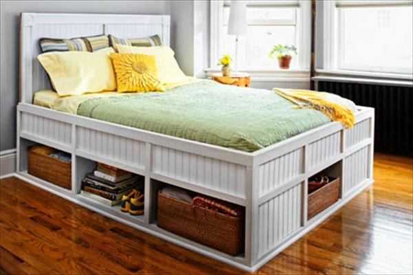 DIY Bedroom Shelving ideas