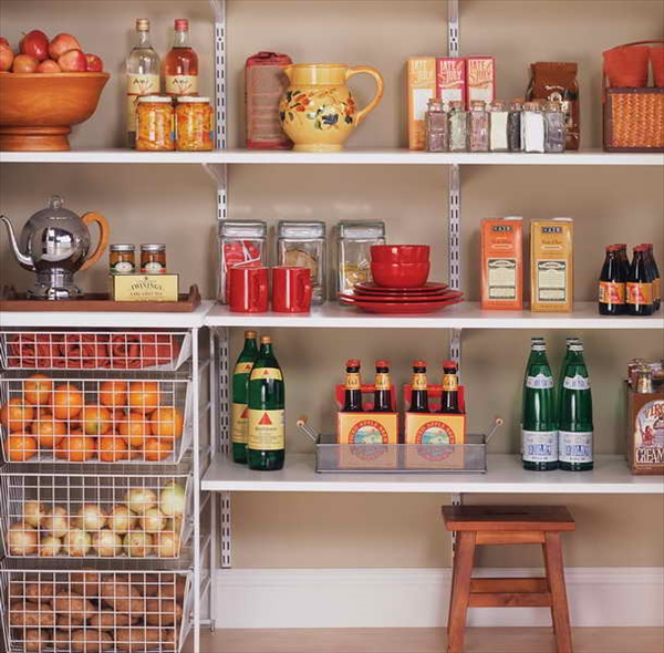 DIY kitchen organizing ideas