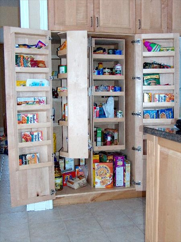 DIY building a kitchen pantry
