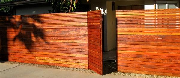 Eays Garden fence installation