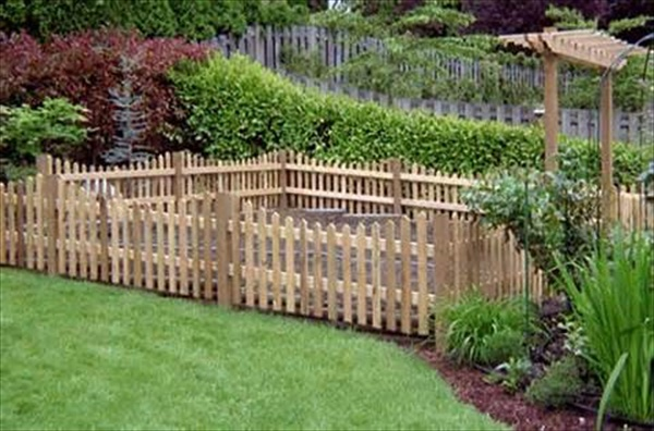 how to build a fence yourself
